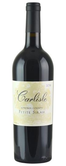 2016 Carlisle Winery Petite Sirah