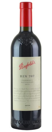2016 Penfolds Cabernet Sauvignon Bin 707