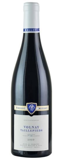 2009 Ballot-Millot et Fils Volnay Taillepieds