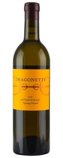 2016 Dragonette Cellars Vogelzang Vineyard Happy Canyon Sauvignon Blanc