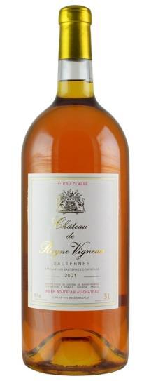 2001 Rayne-Vigneau Sauternes Blend