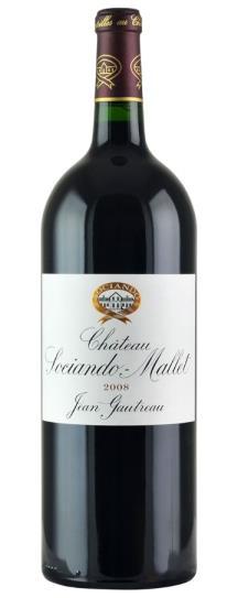 2008 Sociando-Mallet Bordeaux Blend