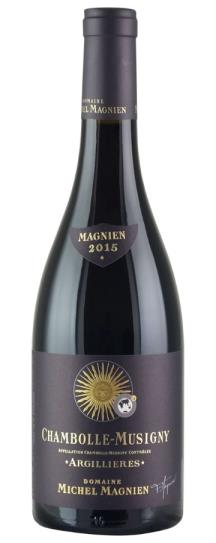 2015 Michel Magnien Chambolle Musigny Les Argillieres
