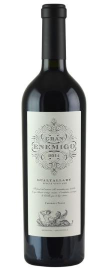 2014 Bodega Aleanna Gran Enemigo Gualtallary Single Vineyard