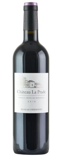 2016 La Prade Bordeaux Blend