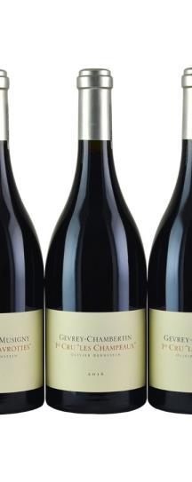 2016 Olivier Bernstein 2 bottles each: Champeaux, Cazetiers, Lavrottes