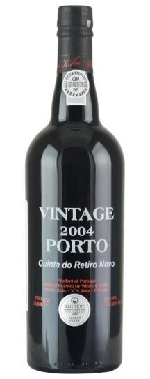 2004 Wiese and Krohn Vintage Port Quinta do Retiro Novo