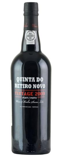 2009 Wiese and Krohn Vintage Port Quinta do Retiro Novo