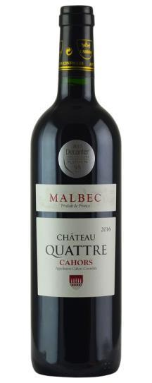 2016 Chateau Quattre Cahors Malbec