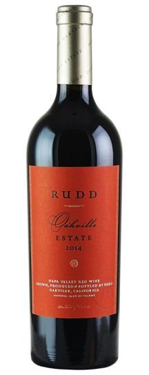 2014 Rudd Vineyards & Winery Oakville Estate Proprietary Red Wine