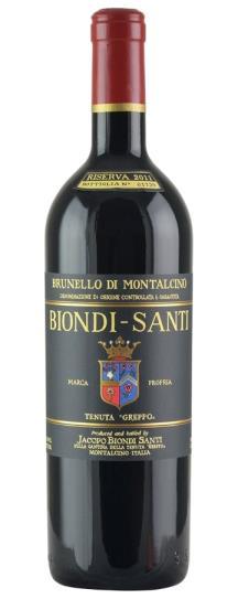 2012 Biondi Santi Brunello di Montalcino Riserva