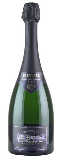 2002 Krug Champagne Clos d'Ambonnay