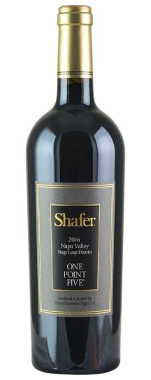 2016 Shafer Vineyards Cabernet Sauvignon One Point Five