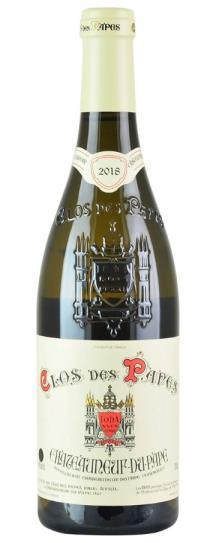 2018 Clos des Papes Chateauneuf du Pape Blanc