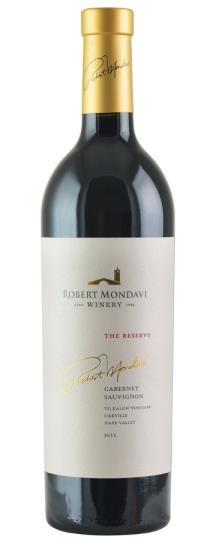 2015 Robert Mondavi Winery Cabernet Sauvignon To Kalon Reserve