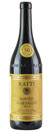 2015 Renato Ratti Barolo Marcenasco