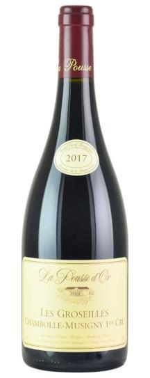 2017 Domaine de la Pousse d'Or Chambolle Musigny Les Groseilles