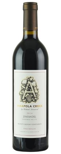 2014 Amapola Creek Zinfandel Monte Rosso
