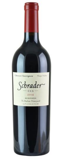 2014 Schrader Cellars Cabernet Sauvignon CCS Beckstoffer To Kalon Vineyard