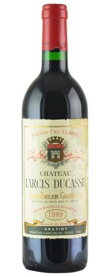 1989 Larcis-Ducasse Bordeaux Blend