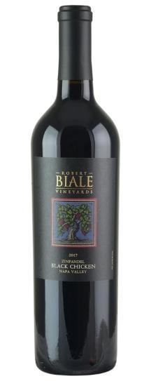 2017 Robert Biale Vineyards Zinfandel Black Chicken Vineyard