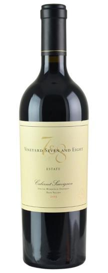 2015 Vineyard 7 & 8 Estate Cabernet Sauvignon