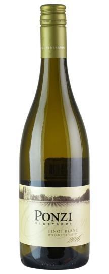 2016 Ponzi Pinot Blanc