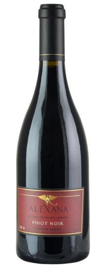2016 Alexana Pinot Noir Willamette Terrior Series