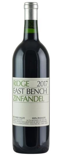 2017 Ridge Zinfandel East Bench