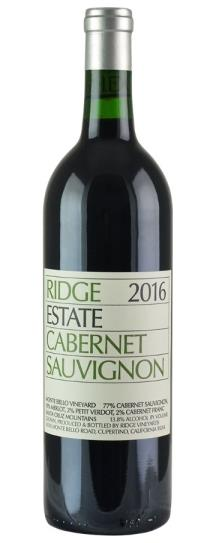 2016 Ridge Estate Cabernet Sauvignon