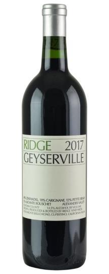 2017 Ridge Geyserville Proprietary Red Wine