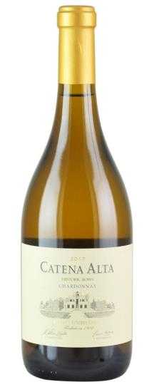 2017 Bodegas Catena Zapata Catena Alta Chardonnay