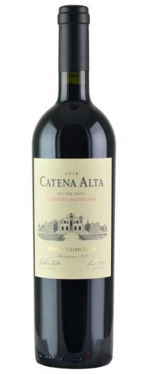2015 Bodegas Catena Zapata Catena Alta Cabernet Sauvignon