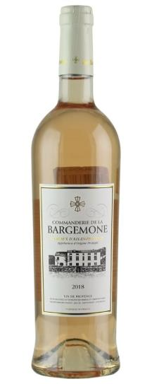 2018 Commanderie de la Bargemone Rose