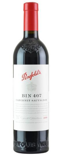 2016 Penfolds Cabernet Sauvignon Bin 407