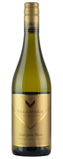2018 Villa Maria Sauvignon Blanc Cellar Selection Marlborough