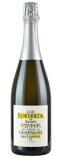 2009 Louis Roederer Brut Nature Philippe Starck