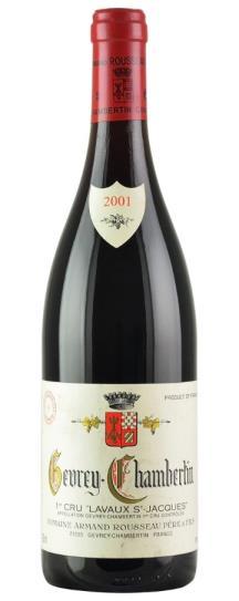 2001 Domaine Armand Rousseau Gevrey Chambertin Lavaux St Jacques