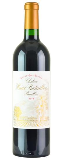 2018 Haut Batailley Bordeaux Blend