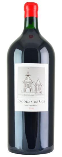 2018 Les Pagodes de Cos Bordeaux Blend