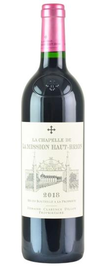 2018 La Mission Haut Brion La Chapelle de la Mission Haut Brion