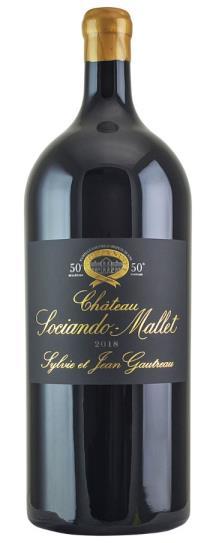 2018 Sociando-Mallet Bordeaux Blend