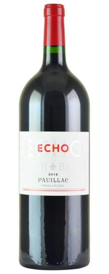 2018 Echo de Lynch Bages Bordeaux Blend