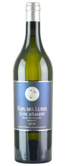 2018 Lune d'Argent Clos des Lunes Bordeaux Blanc