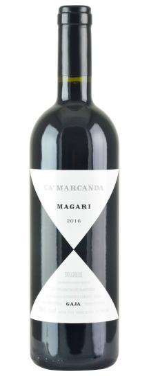 2016 Ca'Marcanda (Gaja) Magari IGT