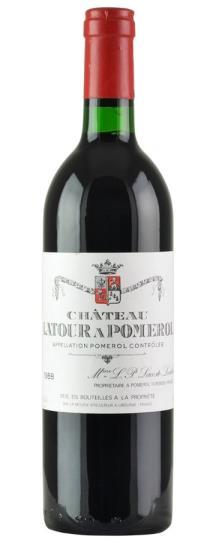 1988 Latour a Pomerol Bordeaux Blend
