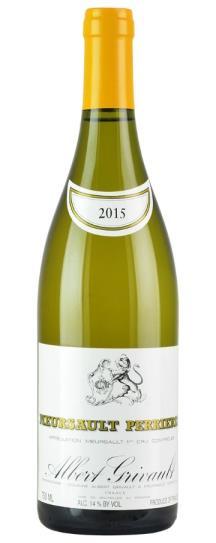 2015 Domaine Albert Grivault Meursault Les Perrieres
