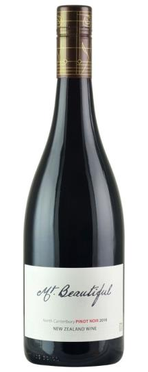 2016 Mt. Beautiful Pinot Noir Canterbury New Zealand