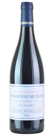 2016 Bruno Clair Chambolle Musigny les Veroilles