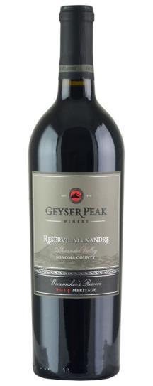 2014 Geyser Peak Winery Alexandre Reserve Meritage